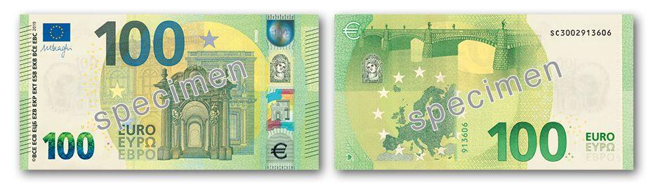 Ausdrucken zum euro schein 100 Euro