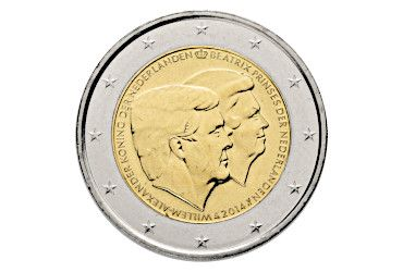 2 euro commemorative coin 2014: The Netherlands