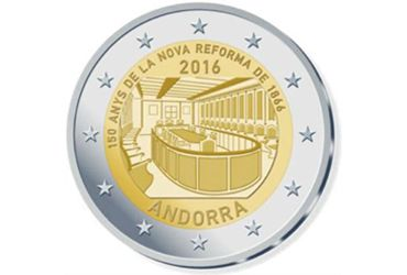 2 Euro 150 years of the New Reform 1866