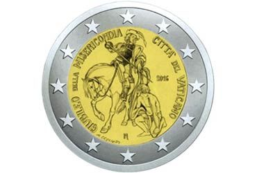 2 EUR The Vatican City State 2016