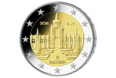 Coin: Saxony ('Federal States' (Bundesländer) series)