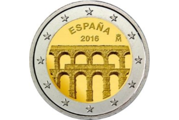Coin: Unesco's World Cultural and and Natural Heritage Sites — Segovia