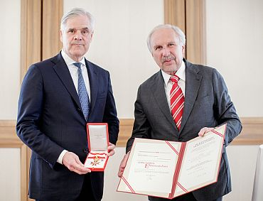 Andreas Dombret, Ewald Nowotny