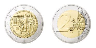 Präsentation Der 2 Euro Sondermünze Und 1 Euro Jubiläumsbriefmarke
