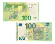 new 100 euro banknote