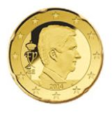 20 cent, Belgium, third series