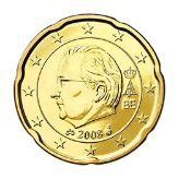 20 cent, Belgium, second series