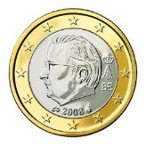 1 euro, Belgium, second series