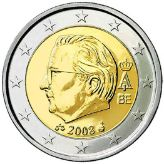 2 euro, Belgium, second series