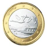 1 euro Finland, first series