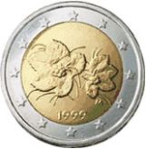2 euro Finland, first series
