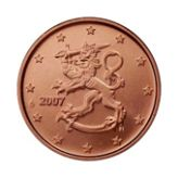 5 cent Finland, second series