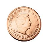 2 cent, Luxembourg