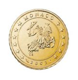 10 cent, Monaco, first series