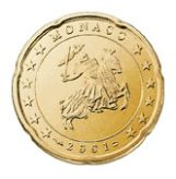 20 cent, Monaco, first series