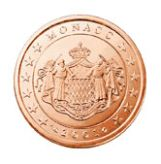 5 cent, Monaco, first series