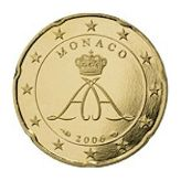 20 cent, Monaco, second series