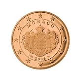 2 cent, Monaco, second series