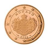 5 cent, Monaco, second series