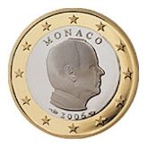 1 euro, Monaco, second series