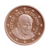 5 cent, Vatican, third series