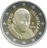 2 euro, Vatican, third series