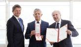 Poland's former central bank President Marek Belka received decoration
