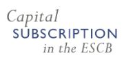 Capital Subscription in the ESCB