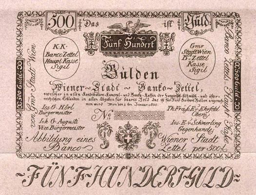 Wiener Stadt-Banco – Zettel - Oesterreichische Nationalbank (OeNB)